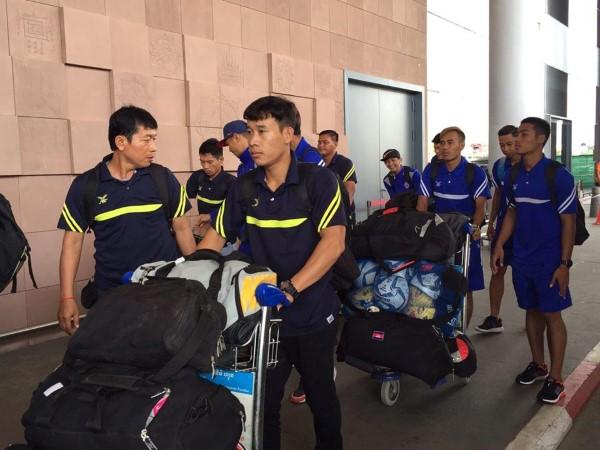 គោព្រៃកម្ពុជា ចេញទៅហាត់នៅសិង្ហបុរី ១០ថ្ងៃត្រៀម AFF Suzuki Cup 2016