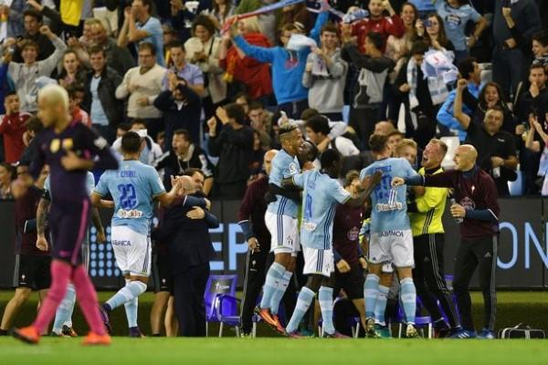 Barcelona ខកខានឡើងឈរកំពូលតារាង ក្រោយចាញ់ Celta Vigo ៤-៣ យប់មិញ ខណៈ Real បានត្រឹមស្មើ (មានវីដេអូ)